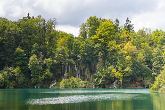 Okrugljak lake in Plitvice Lakes National Park, Croatia