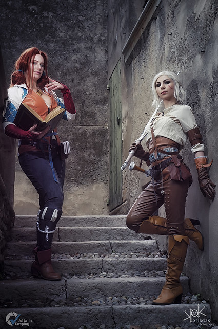 Sacchy Cosplay as Triss from Witcher III, by SpirosK photography (pt.3)