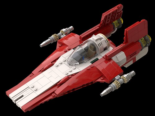 RZ-2 A-Wing RED | by GUMBINGER