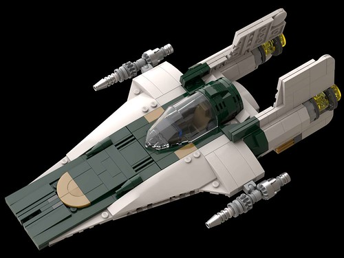 RZ-2 A-Wing GREEN | by GUMBINGER