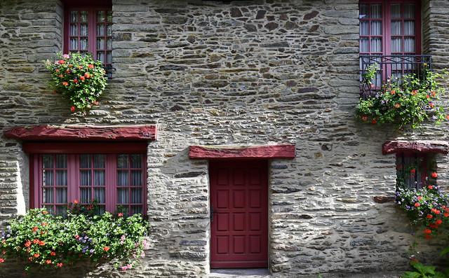 Malestroit, Bretagne, France, August 2019 303