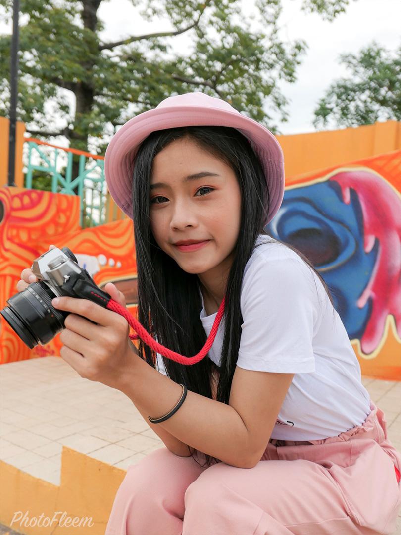 รีวิวภาพถ่ายพอร์ทเทรต กล้อง Leica D-Lux 7