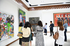 ASEAN Women Circle visit to Shifting Tides Exhibition