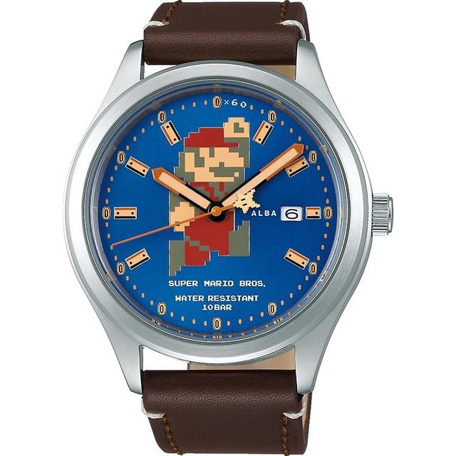 時尚與 8 位元之絕妙結合!ALBA x《超級瑪利歐兄弟》推出數款聯名手錶(アルバ スーパーマリオブラザーズ ウオッチコレクション)