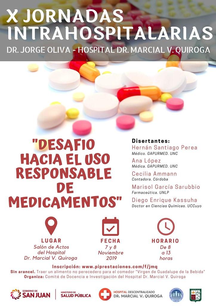 2019-09-03 MARCIAL QUIROGA: Jornadas Intrahospitalarias del Marcial Quiroga