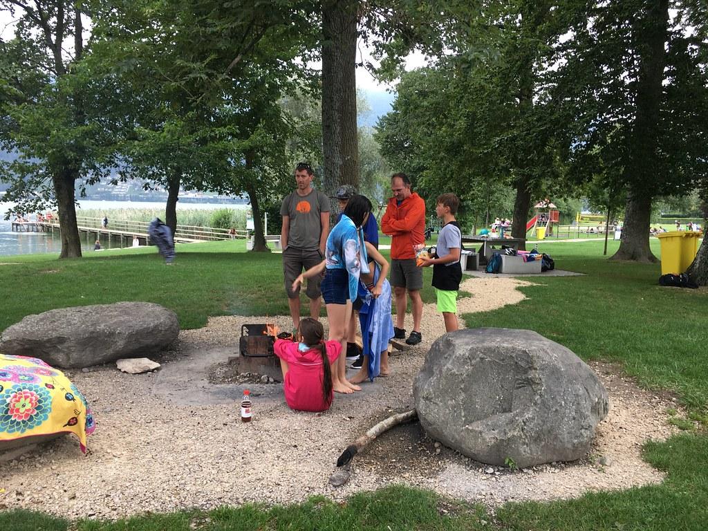 7. Klasse Ausflug Bielersee