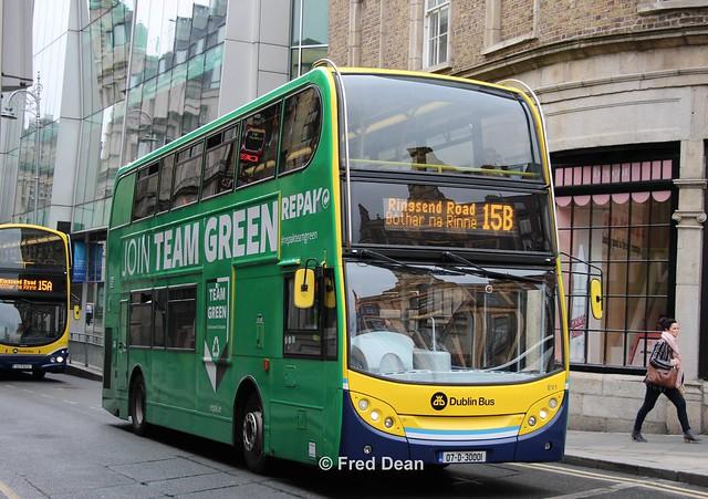 Dublin Bus EV1 (07D30001).