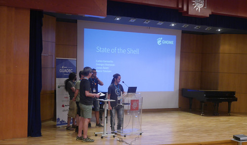 GUADEC 2019 state of the shell