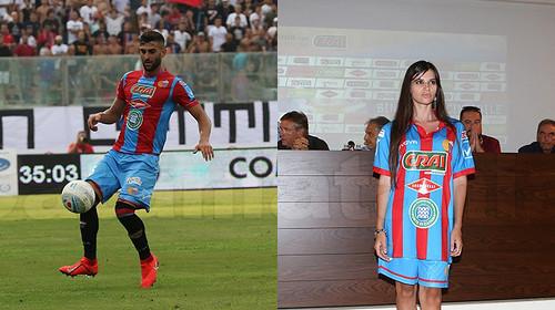 """Catania: maglia nuova """"in ritardo"""", non è la prima volta...$"""