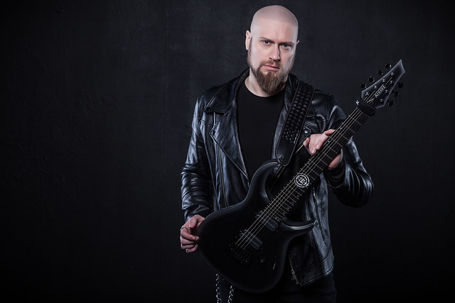Geared Up: UNVEIL THE STRENGTH Guitarist Andy James on His Favourite Gear, Including His Signature Kiesel Guitar