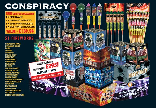 NEW FOR 2019 Conspiracy DIY Fireworks Pack