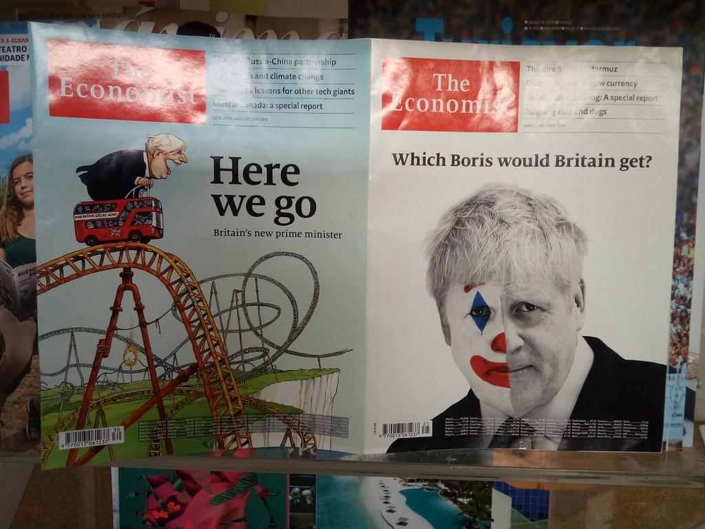 Boris @ The Economist, 2019