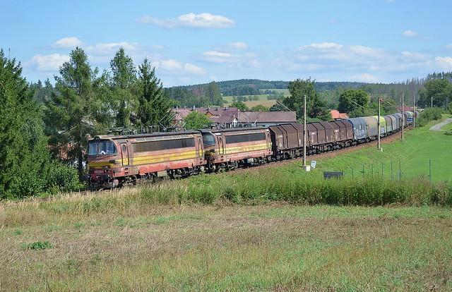230.103 + 230.108 CD Cargo_Slapanov - Havlickuv Brod_3.9.2019