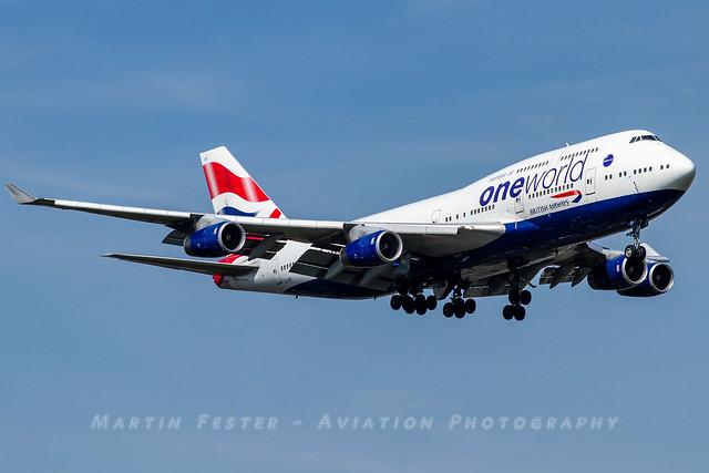 G-CIVP // British Airways // Boeing 747-436