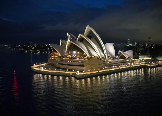 Sydney Opera House 6am