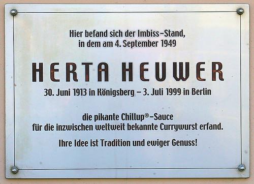 Herta Heuwer...