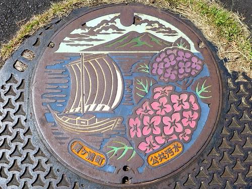 Kasumigaura Ibaraki, manhole cover (茨城県霞ケ浦町のマンホール)