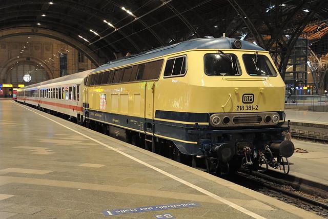 RailSystems 218 381 Leipzig Hbf 03.09.19