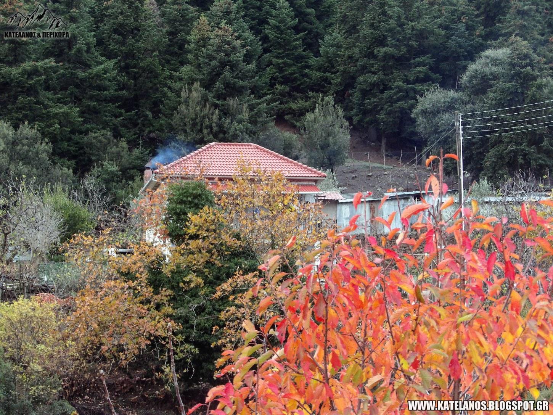 φθινοπωρινες εικονες ορεινος οικισμος