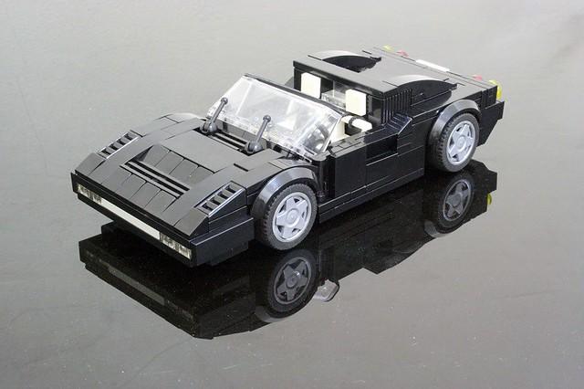 Ferrari 328 GTS Nero