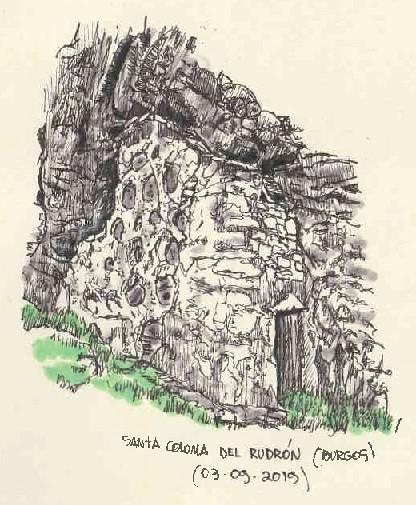 Santa Coloma del Rudrón (Burgos)