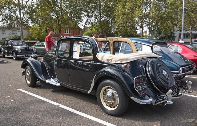 Citroën Traction Avant découvrable