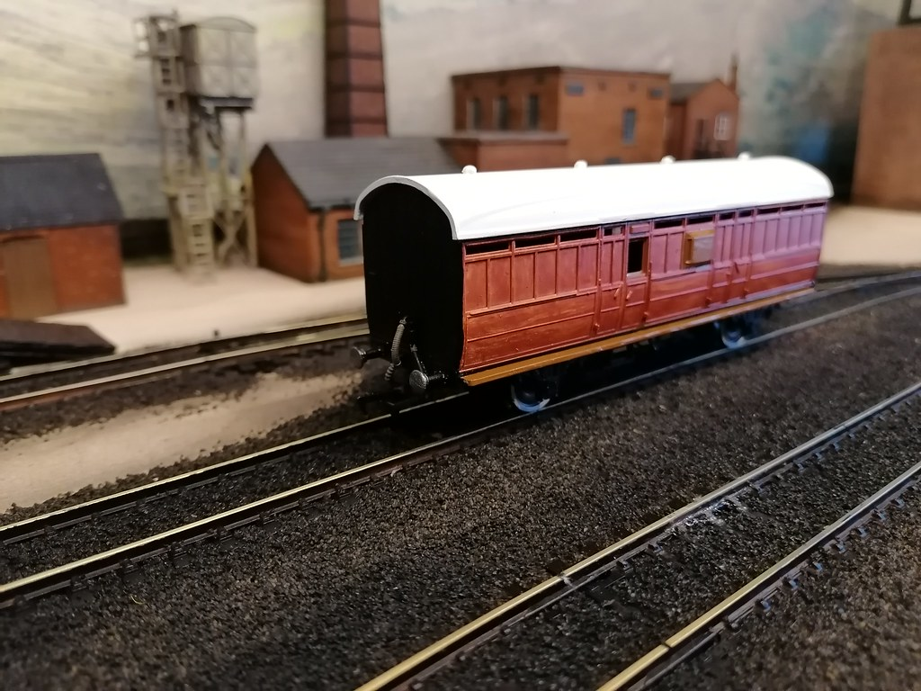 Chives LNER van now ready for transfers