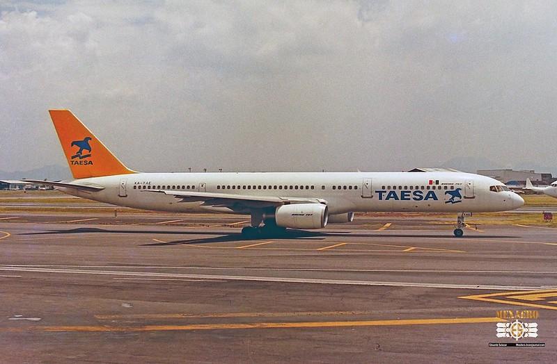 TAESA / Boeing 757-2Y0 / XA-TAE