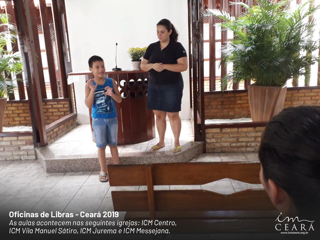 Oficina de Libras - Ceará 2019