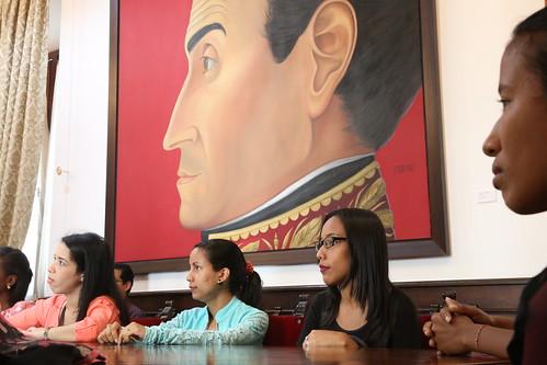 Cierra de pasantías de los estudiantes del PFG de RR.II. de la UBV
