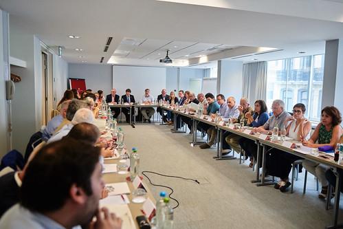 Reunió del grup parlamentari a Brussel·les 3-4 setembre 2019