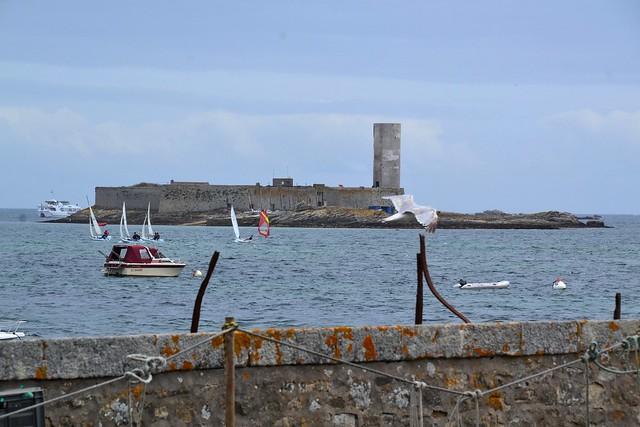 Glénant island - Fort Cigogne
