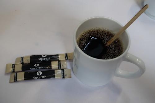 Kaffee (in der Kaffeepause einer Tagung in Köln)