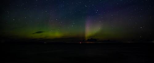 """Aurora Borealis over the """"Moray Firth"""""""