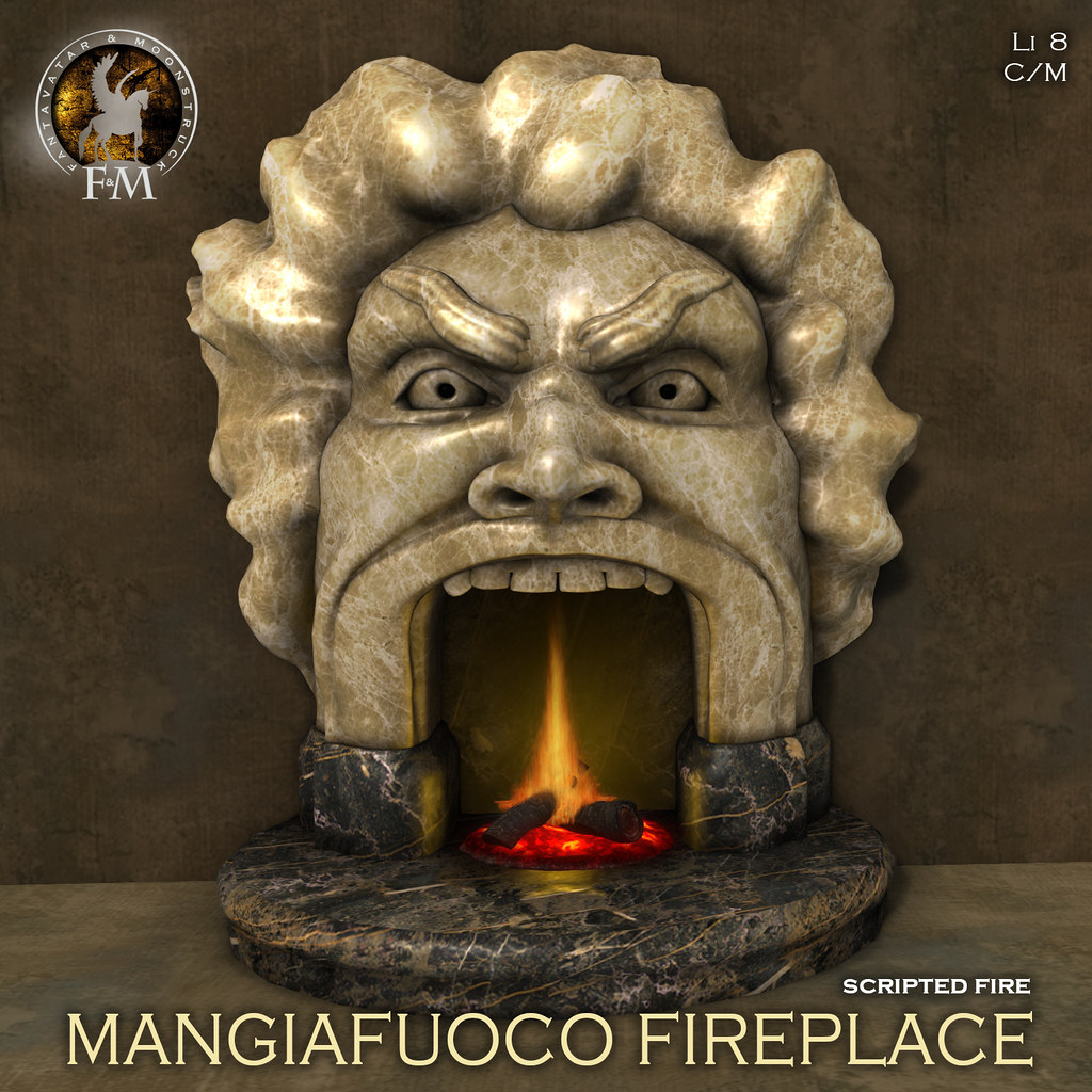 F&M * Mangiafuoco Fireplace EXCLUSIVE @ We Love Roleplay