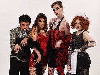 Tue, 09/03/2019 - 15:34 - A photograph from GCC's Fashion Show featuring the Rocky Horror Show, courtesy of GCC