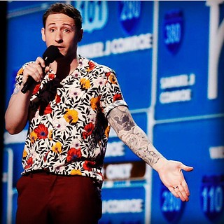 Tue, 09/03/2019 - 15:31 - Samuel J. Comroe, finalist on NBC's hit show America's Got Talent appearing at GCC