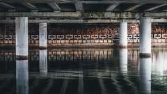 Under the bridge, MInsk, Belarus