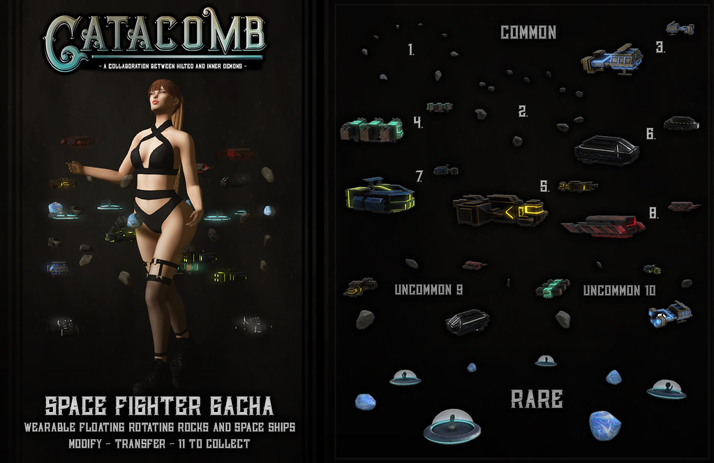 Catacomb Space Fighter Gacha Ad