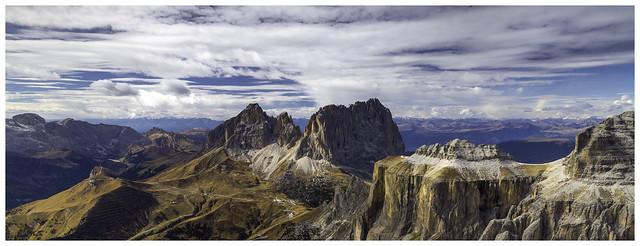 Canazei - Passo Pordoi, Sass Pordoi, Val Di Fassa Italian Dolomites