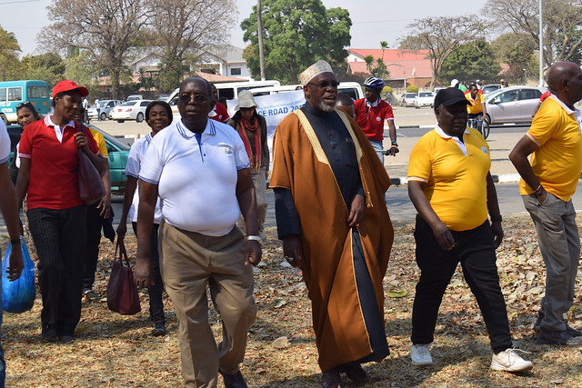 Zambia-2019-08-10-UPF-Zambia's Peace Road Event Attracts More Than 350 Marchers
