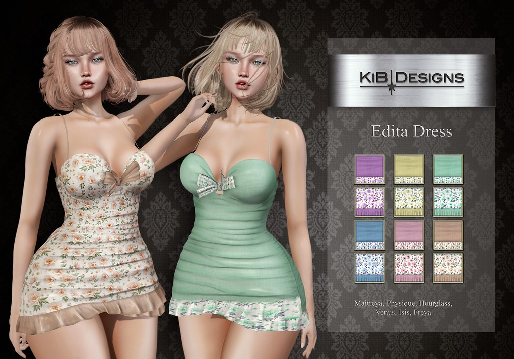 KiB Designs – Edita Dress @AnyBody Event