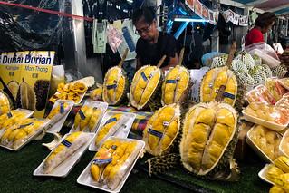 Bangkok Durian Vendor
