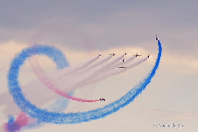 The Red Arrows at CNE 2019