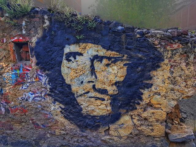 El che Guevara inmortalizado