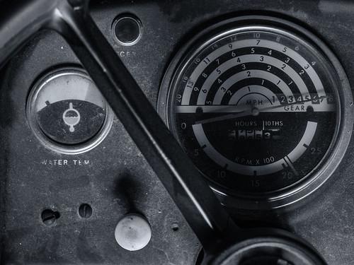 Tractor dashboard