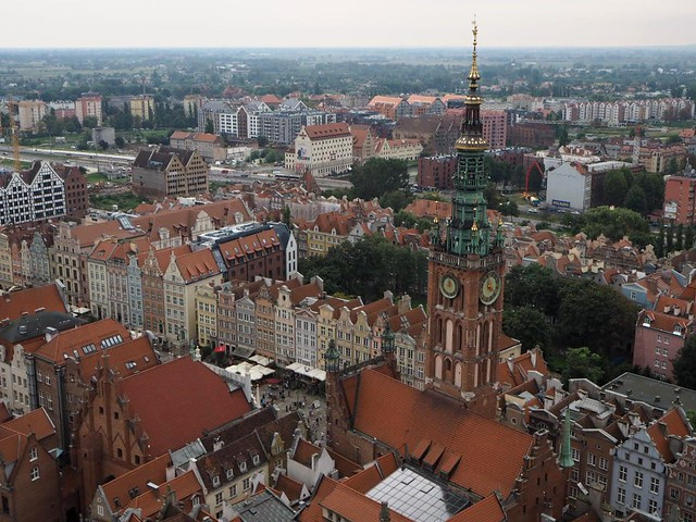 Gdansk -  View from the St Mary's Church Tower 4