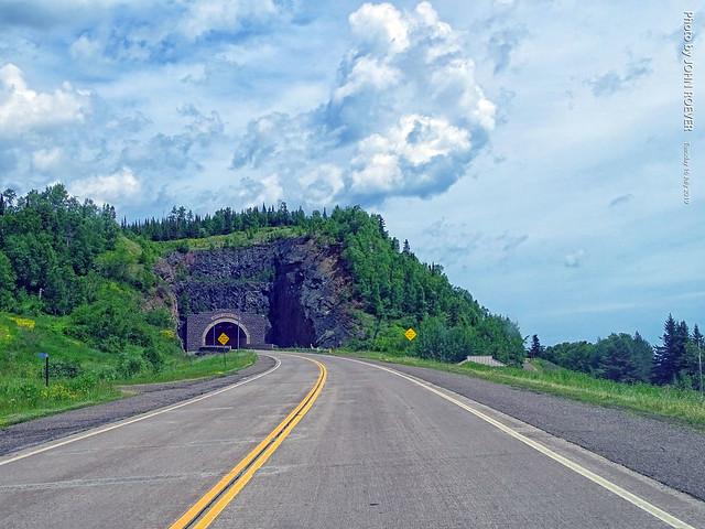Silver Creek Cliff Tunnel, 16 July 2019