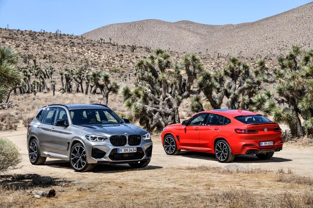 全新BMW X3 M與BMW X4 M Competition正式上市