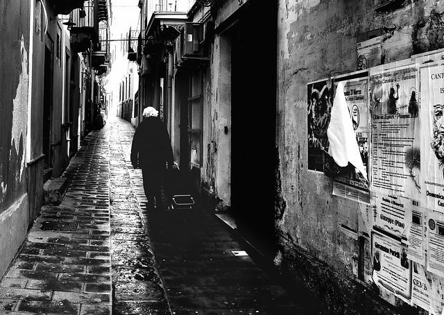 Dans les rues de Lipari !!!